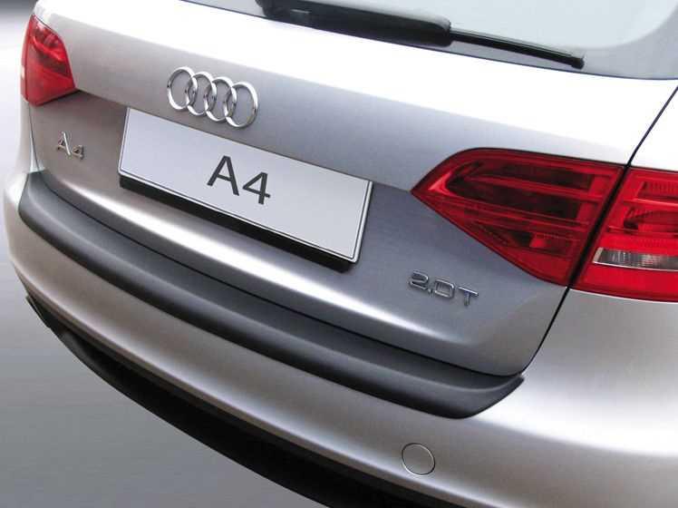 Rubber Matten Audi A4.Bumperprotect Beschermstrip Abs Zwart Audi A4 Avant Station Bj