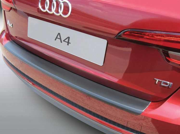Rubber Matten Audi A4.Bumperprotect Beschermstrip Abs Zwart Audi A4 Avant Station
