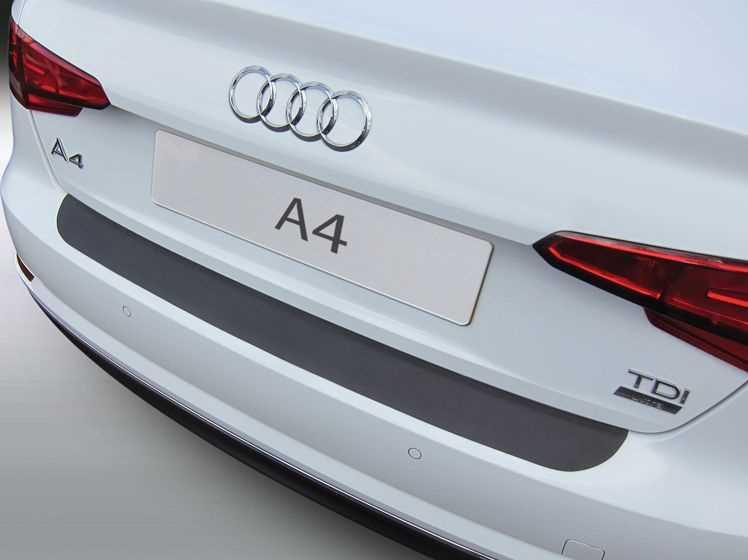 Rubber Matten Audi A4.Bumperprotect Beschermstrip Abs Zwart Audi A4 Sedan Bj 2015 Heden